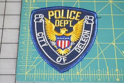 Police Department Of Deleon Patch (0038)