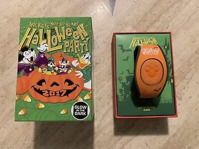 Brand New Unlinked Disney Mickey's Not So Scary Halloween Party Magicband LE