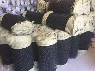 BLACK  COATED Chain wire fencing 0.9mH 10mL / Chain Wire Mesh/Chain