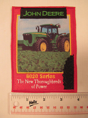 161be0e6b RARE JOHN DEERE Tractor Embroidered Iron On Patch Model 8020