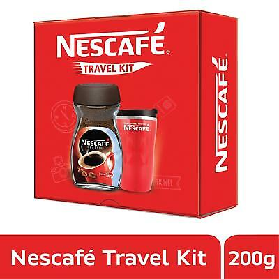 Nescafe coffee  Limited Edition Travel Kit, Red, 200g with Jar Inside
