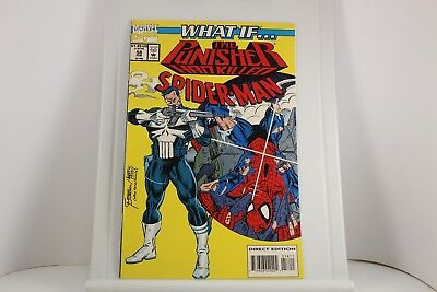 Marvel What If? The Punisher Had Killed Spiderman #58