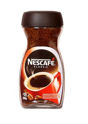 Nescafe coffee  Classic Pure Soluble Coffee Jar (Imported), 200g - Pack of 2