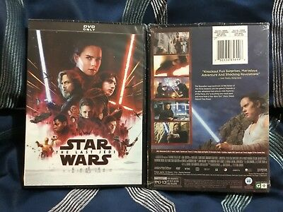 Star Wars The Last Jedi Episode VIII 8 *Brand New* Factory Sealed *Free Ship