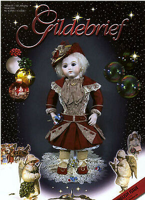Gildebrief 4-2005 Dollmaking Antique Dress Patterns Bru, Tête Jumeau CD Format