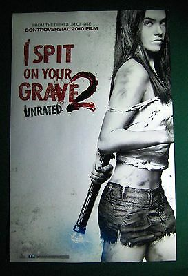 I Spit On Your Grave 2 / Detention Of The Dead Movie Poster Comic Con Horror
