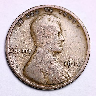 1914 Lincoln Wheat Cent Penny LOWEST PRICES ON THE BAY!  FREE SHIPPING!