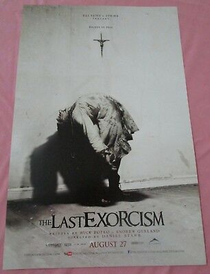 The Last Exorcism Movie Promo Poster Fan Expo Comic Con