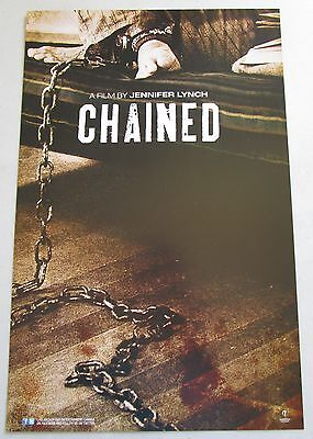 Chained Horror Movie Poster Fan Expo Comic Con Jennifer Lynch