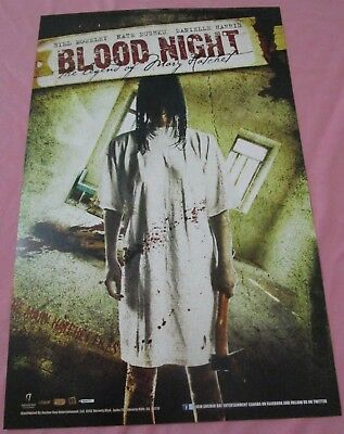 Blood Night Cyrus Double Sided Promo Poster Fan Expo Comic Con