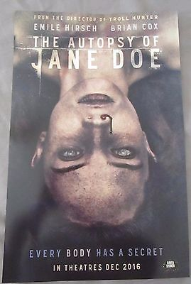 The Autopsy of Jane Doe / Todd & The Book of Pure Evil Poster Fan Expo 2016