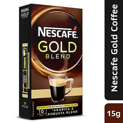 Nescafe coffee  gold blend, premium imported coffee powder 15g