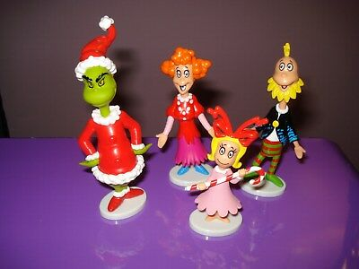 How The Grinch Stole Christmas Cindy Lou Classic Toy Figure Doll Cake Topper Lot