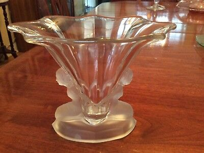 Cambridge  Walther & Sohne  Art Deco Vase With Nude Woman