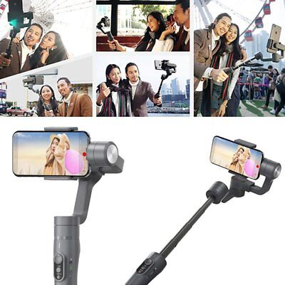 Feiyu Tech 2 3-Axis Stabilized Handheld Gimbal With Adjustable Stick for iPhone