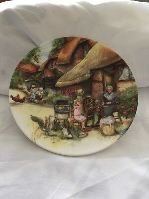 "Royal Doulton Collectors Plates ""Old Country Crafts"" ."