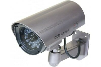 Decoy Outdoor Camera with blinking LED Metallic purple