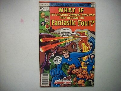 What If The Original marvel Bullpen Had Become the Fantastic Four? #11 Vintage
