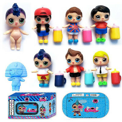 2018 Lol Surprise Ball Series Doll Light Baby Boys Kids Play Xmas Gift Toy