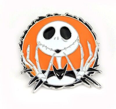 New Disney Nightmare Before Christmas Enamel Pin Brooch Badge Jack Skellington