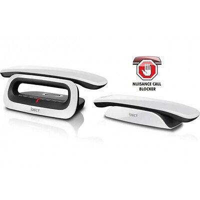 iDect Loop Plus Twin Digital Cordless Phone Answer Machine with Call Blocker