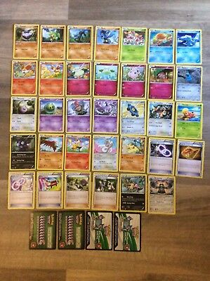 POKEMON CARDS x38 INCLUDES RARES NO DOUBLE UPS 2015 & 2016 CHEAP AUS