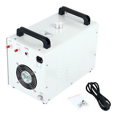 110V Industrial Water Chiller CW-3000 for 60/80W CO2 Glass Laser Tube Engraver