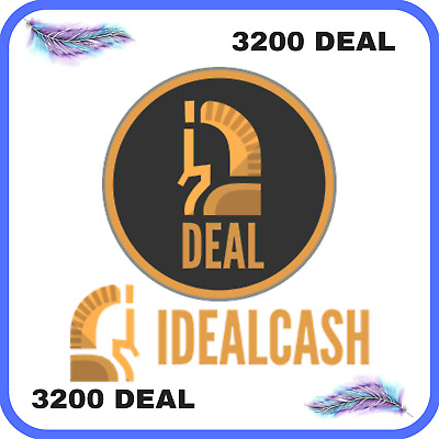 3200 IdealCash (DEAL) CRYPTO MINING-CONTRACT ( 3200 DEAL )