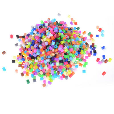 1000Pcs/Bag 5mm Hama Beads Perler Beads Kids Education DIY Toys Mixed Color MHK