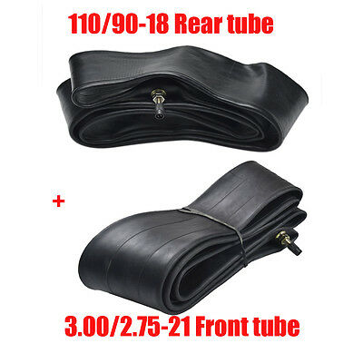 110/90-18 Rear + Front Tire Inner Tube 80/100-21 Fit 200 250cc Pit Dirt Pro Bike