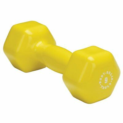 THE BEST Body-Solid Tools BSTVD9 9-Pound Vinyl Dumbbell (Yellow) free shipping