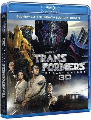 Transformers: The Last Knight Blu-Ray 3D + 2D  Coffret Neuf Sous Blister