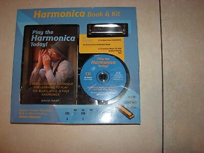 Harmonica Book And Kit Includes Cd