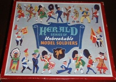 vintage Herald Toy Soldiers Boxed