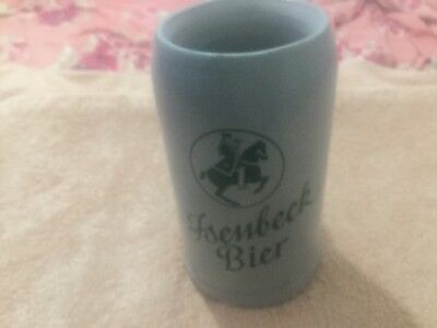 Vintage Very Rare Isenbeck Bier Canadian Army Officer Club 1966 Litre Beer Stein