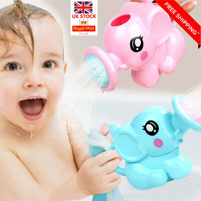 Children Kids Baby Swimming Bath Toys Small Elephant Watering Pot Showering Sale