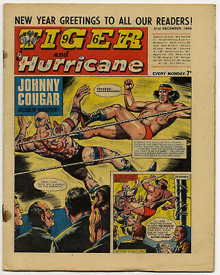 Tiger 31st Dec 1966 (Jet-Ace Logan, Olac The Gladiator, Roy of the Rovers...)