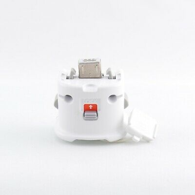 Nintendo Wii (weiß) ORIGINAL Motion Plus Adapter / Sensor