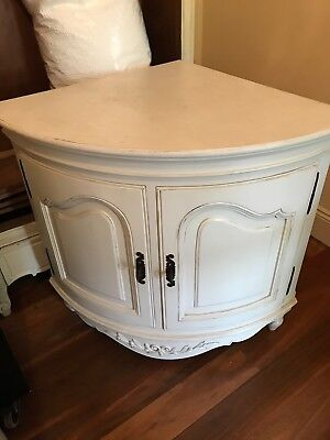 French County Style Corner Cabinet/Cupboard