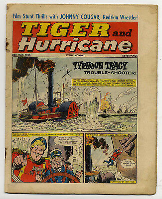 Tiger 29th May 1965 (Jet-Ace Logan, Olac the Gladiator, Roy of the Rovers...)