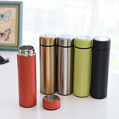500ML Stainless Steel Travel Mug water Vacuum insulated Thermal Cup Bottle NEW