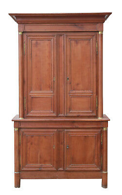 Antique French Housekeepers Cupboard Circa 1790 Fruitwood 18th Century