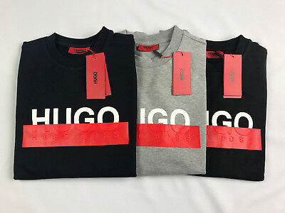 Hugo Boss Jumper / Sweatshirt / Sweater - ALL SIZES - Colours Black Grey & Navy