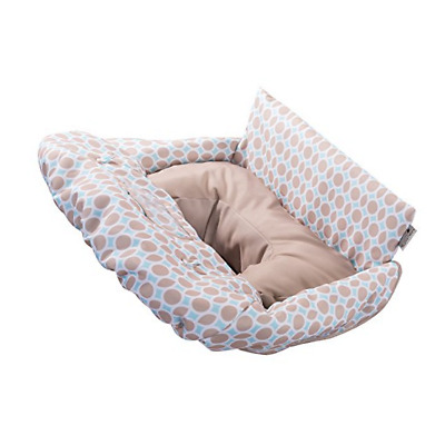 Summer Infant 2-in-1 Cushy Cart Cover and Seat Positioner, Dots and 78370