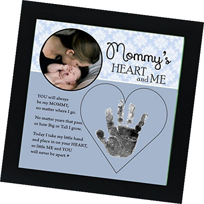 The Grandparent Gift Co. Baby Child Keepsake Handprint Frame with Poetry - Mommy