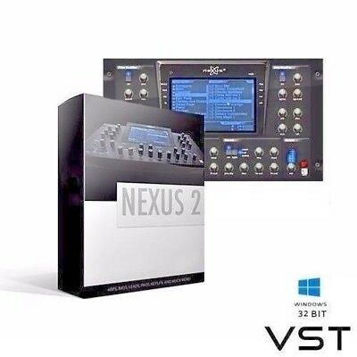 reFX NEXUS 2 VST Plugin  E-DELIVERY Instant Download Link