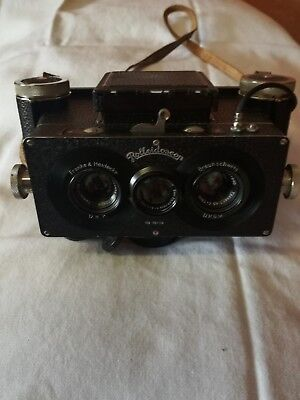Rolleidoscop Stereo Camera 4,5 x 7,5 cm dual stereo
