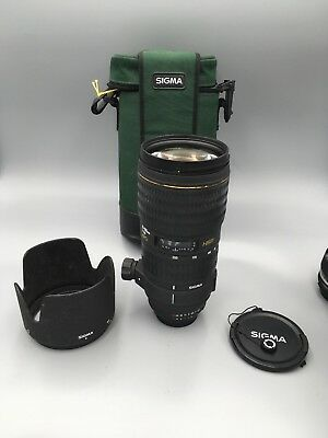 Excellent SIGMA EX 70-200mm F2.8 APO HSM For Nikon