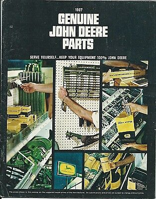 1967 genuine JOHN DEERE PARTS Catalog FARM MACHINERY Planter Toy Tractor + BONUS
