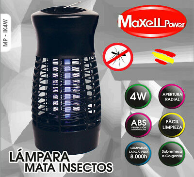 Maxell Power INSECT KILLER UV anti MOSQUITOS INSECTOS MATA MOSQUITO   4W